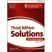 Solutions 3rd Edition Pre-Intermediate Teacher's Pack